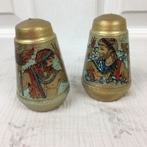 Other - 🌷3 for $30 sale Unique Greek God salt and pepper